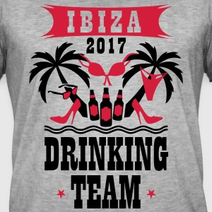 Ibiza 2017 Drinking Team Palm Beach Sex Beer T-Shi - Männer Vintage T-Shirt
