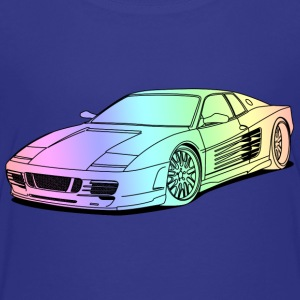 cool car colourful Shirts - Teenage Premium T-Shirt