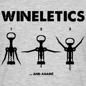 Wineletics - Männer T-Shirt