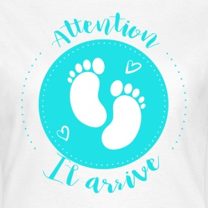 Attention il arrive - T-shirt Femme