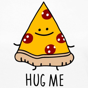 hug me (pizza) Long Sleeve Shirts - Women's Premium Longsleeve Shirt