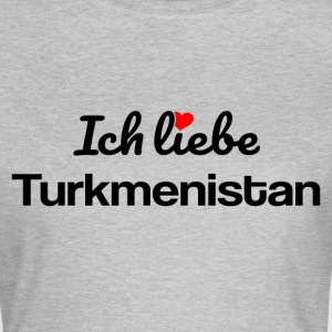 Turkmenistan T-Shirts - Frauen T-Shirt