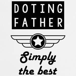 Doting Father Papa Poule Dad Dad Daddy Pere  Aprons - Cooking Apron