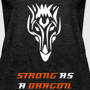 Strong as a Dragon - Frauen Premium Tank Top