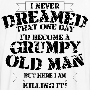 Grumpy Old Man - Men's Ringer Shirt