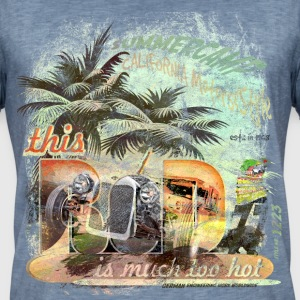 inGENIEur hot deutsch california and german hotrod T-Shirts - Männer Vintage T-Shirt