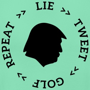 trump lie tweet T-Shirts - Frauen T-Shirt