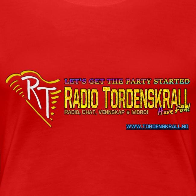 Tordenskrall T-skjorte (kvinner)