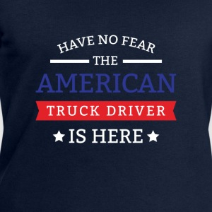 Have no fear the american truck driver is here Tröjor - Sweatshirt herr från Stanley & Stella