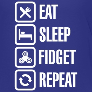 Eat Sleep Fidget Repeat - Fidget Spinner Shirts - Kinderen Premium T-shirt