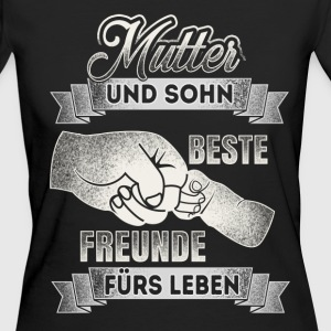Mother and son - best friends - DE T-Shirts - Women's Organic T-shirt