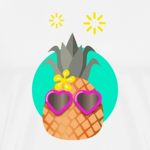 happy Pineapple T-Shirts - Men's Premium T-Shirt