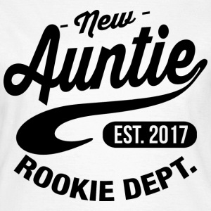 New Auntie 2017 T-Shirts - Frauen T-Shirt