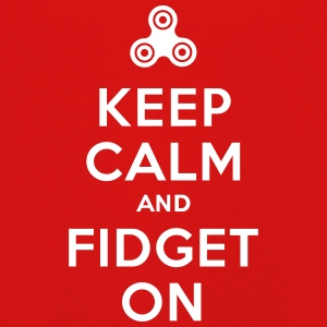 Keep calm and fidget on - Fidget Spinner Manga larga - Camiseta de manga larga premium niño