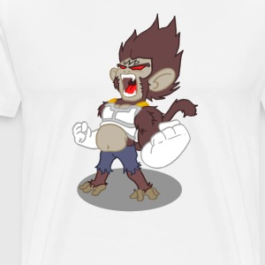 Space monkey - T-shirt Premium Homme