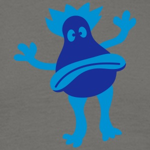 Sad unhappy blue little sweet child cute monster T-Shirts - Men's T-Shirt