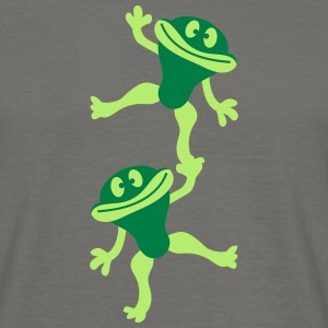 Team, friends, couple, circus, athlete, show, frog T-Shirts - Men's T-Shirt
