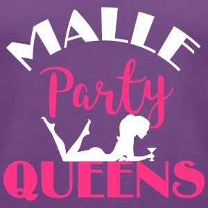 Malle Party Queens Tops - Frauen Premium Tank Top