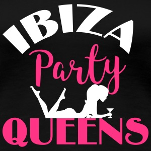 Ibiza Party Queens T-Shirts - Frauen Premium T-Shirt