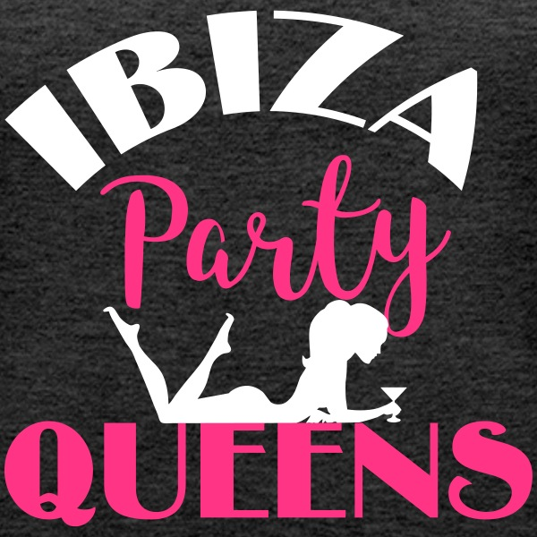 Ibiza Party Queens Tops - Frauen Premium Tank Top