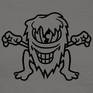 Little naughty hairy one eye monster cyclops grin T-Shirts - Men's T-Shirt
