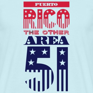 PUERTO RICO OTHER AREA 51 Tee shirts - T-shirt Homme