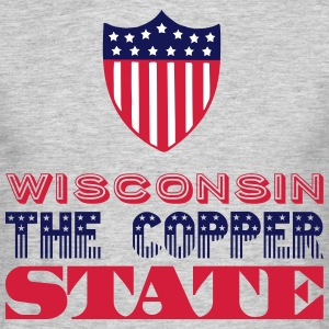 WISCONSIN THE COPPER STATE Tee shirts - T-shirt Homme