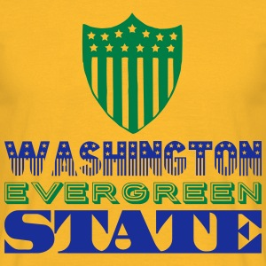 WASHINGTON EVERGREEN STATE Tee shirts - T-shirt Homme