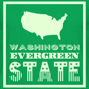 WASHINGTON EVERGREEN STAT Tee shirts - T-shirt Homme