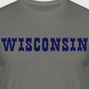 WISCONSIN Tee shirts - T-shirt Homme