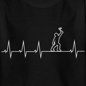 Climbing - heartbeat Shirts - Teenage T-shirt