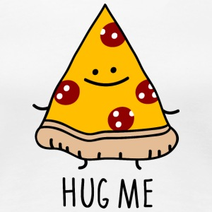 hug me (pizza) - Frauen Premium T-Shirt