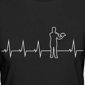 Cooking - heartbeat T-Shirts - Women's Organic T-shirt