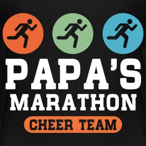 Papas Marathon Cheer Team T-Shirts - Kinder Premium T-Shirt