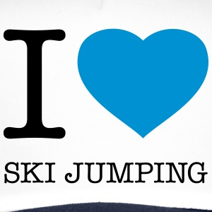 I LOVE SKI JUMPING - Trucker Cap