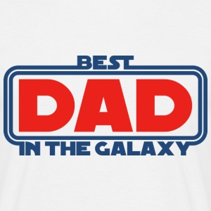 Best Dad in the Galaxy T-Shirts - Männer T-Shirt