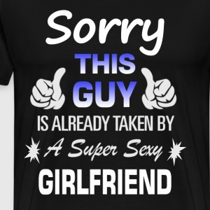 This guy is already taken by - Couple T-Shirts - Männer Premium T-Shirt