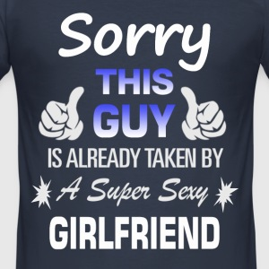 This guy is already... T-Shirts - Men's Slim Fit T-Shirt