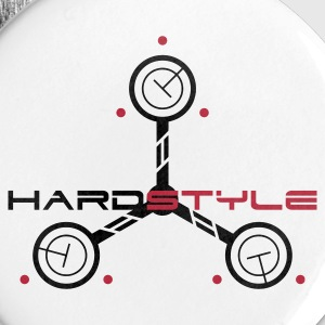 Hardstyle Tech 3 Rave Quote Buttons & Anstecker - Buttons klein 25 mm