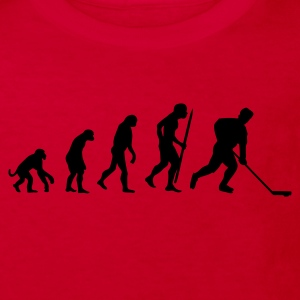 Red evolution of ice hockey Kids' Shirts - Kids' Organic T-shirt