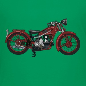 Retro motorcycle Shirts - Teenage Premium T-Shirt