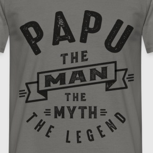 Papu The Myth - Men's T-Shirt
