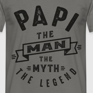 Papi The Myth - Men's T-Shirt