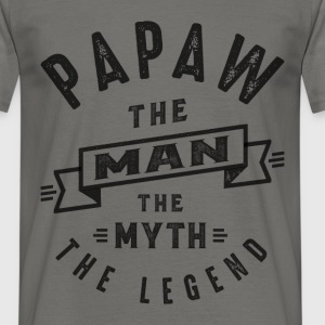 Papaw The Myth - Men's T-Shirt