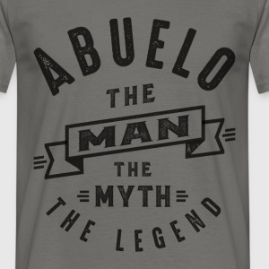 Abuelo The Myth - Men's T-Shirt