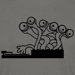Dj music mixing party party club dancing tentacle  T-Shirts - Men's T-Shirt