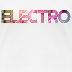 electro SHIRT WOMAN - Frauen Premium T-Shirt