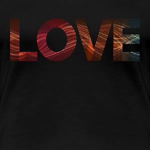 love SHIRT WOMAN - Frauen Premium T-Shirt