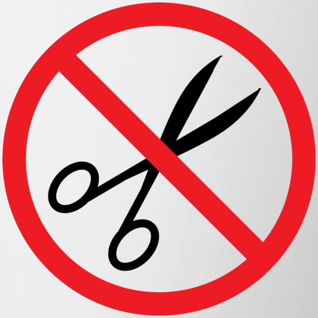 No Cuts Mug (classic BOS Logo on back)