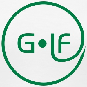 Golf Golfball  T-Shirts - Frauen Premium T-Shirt